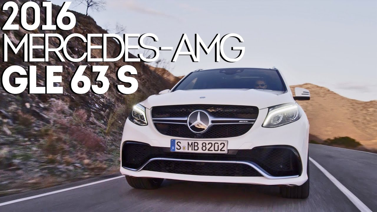2016 Mercedes-AMG GLE 63 S (585 hp) Accelerations, dynamics and ...