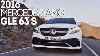 2016 Mercedes-AMG GLE 63 S (585 hp) Accelerations, dynamics and design