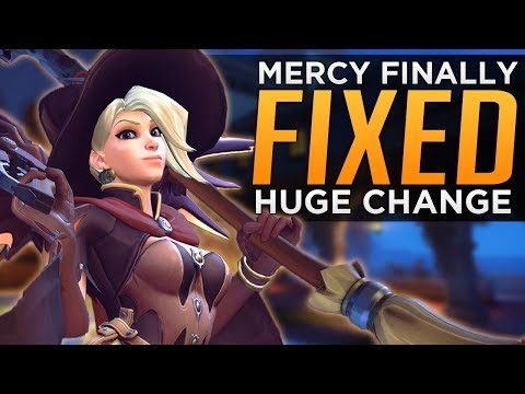 Overwatch: Mercy FINALLY FIXED! - HUGE Changes Coming!