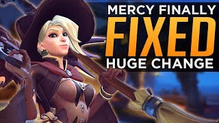 Overwatch: Mercy FINALLY FIXED! - HUGE Changes Coming! thumbnail