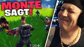 Monte sagt (Neues Format) | Fortnite | SpontanaBlack