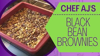 OUTRAGEOUS BLACK BEAN BROWNIES