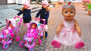 Куклы беби бон Настя и день рождения Как Мама Видео для детей / Magic Twins