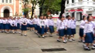 Бангкокские школьники
