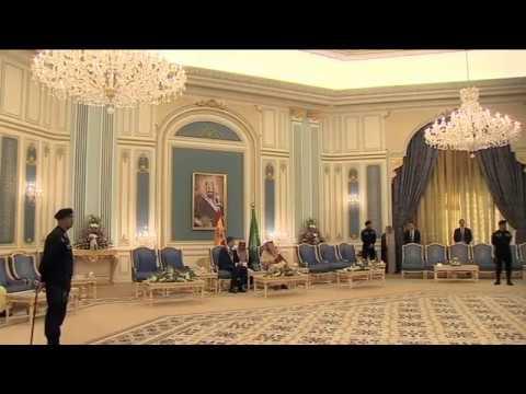 S.M. el Rey se reúne con el Rey de Arabia Saudí, Salman bin Abdelaziz