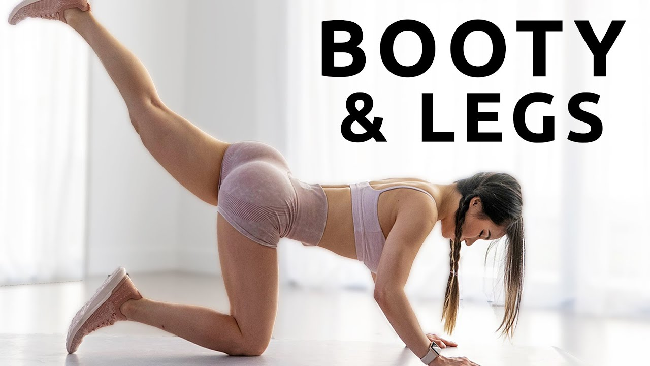 15 Mins Booty and Leg Workout | 2 Weeks Shred Challenge