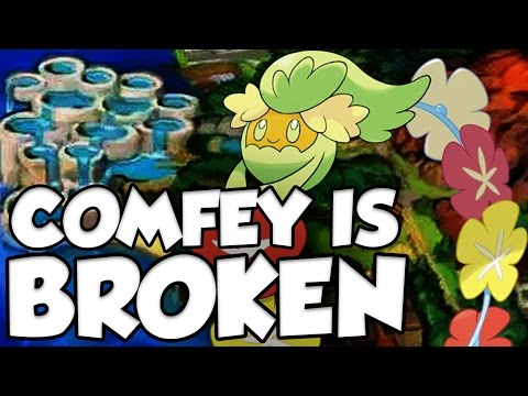 COMFEY TRIAGE TOO GOOD! Pokemon Sun and Moon Comfey Moveset and Comfey Guide