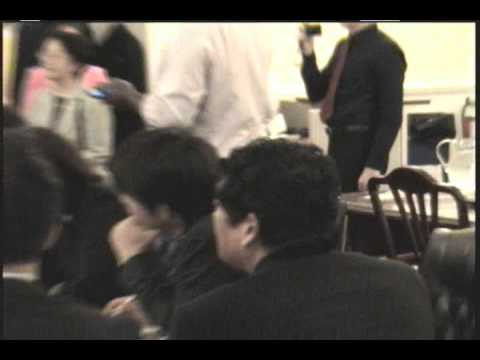 COUNCIL MEMBER MATHIEU EUGENE HOSTS JAPANESE DELEGATION