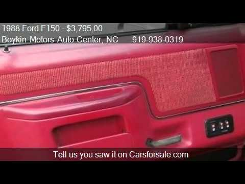 1988 ford f150 for sale in smithfield nc 27577 at boykin