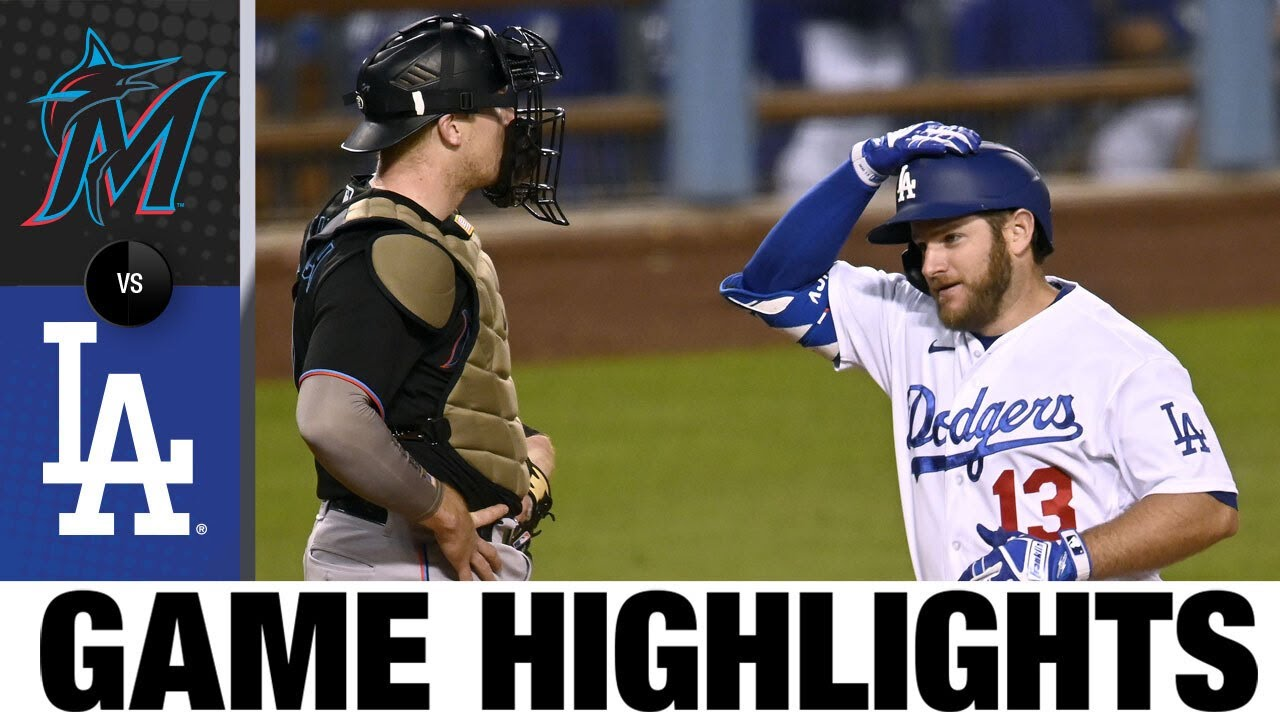 Dodgers vs. Marlins Game Highlights (7/05/21) | MLB Highlights