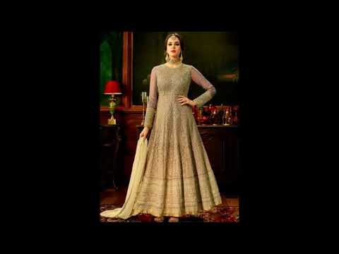 Latest party wear dress designs collections 2018 | Long and short Anarkali dress designs