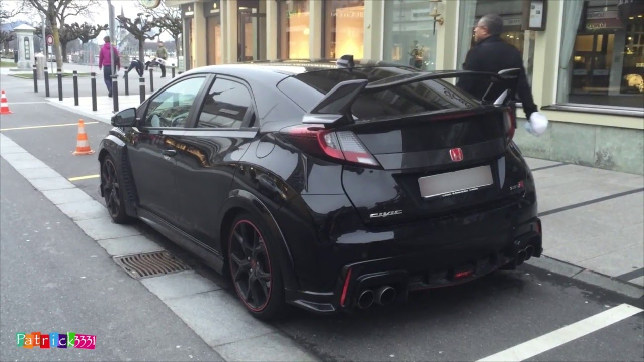 2016 honda civic type r black in interlaken switzerland. Black Bedroom Furniture Sets. Home Design Ideas