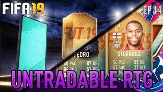 FIFA 19! THE UNTRADABLE RTG! BIG TEAM CHANGES! LETS UNLOCK PEDRO! (PS4/XBOX)