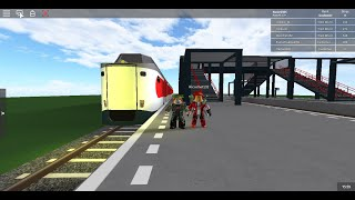 ROBLOX is Back-Ns Game Universe with the ICMm from Amsterdam to Utrecht with a Rail Spotter part1
