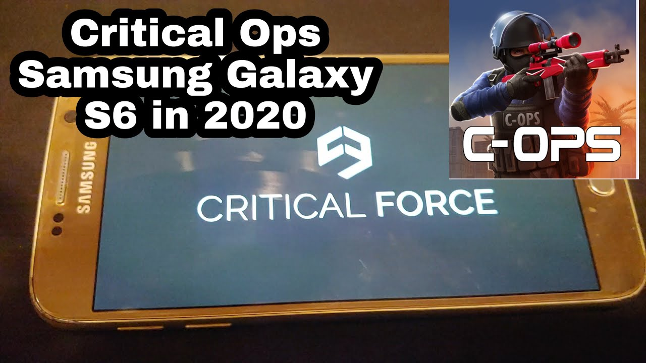 Critical Ops-Found my Old Samsung Galaxy After almost 2 years lost in my Desk!(2020 GAMEPLAY!)