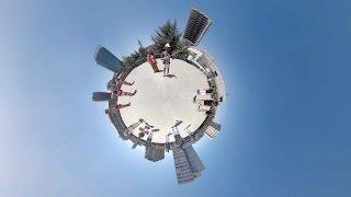 መታየት የሚግባው አስገራሚ ቪዲዮ አቀራርጽ - Africa´s first ever 360 video panorama music video. Filmed on the roof