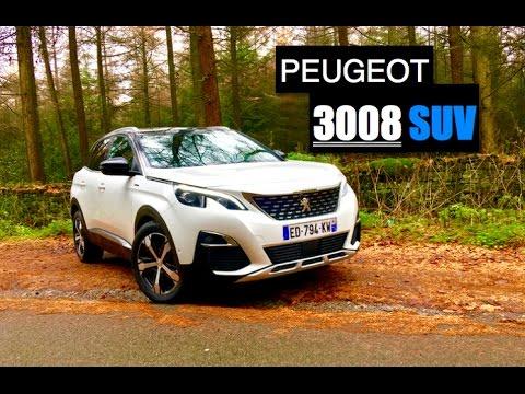 2017 Peugeot 3008 SUV 1.6 BlueHDi Review – Inside Lane