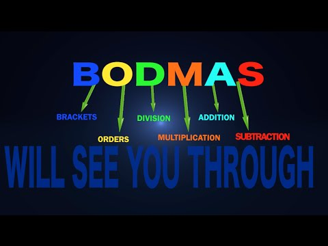NEW 2015 BODMAS song - Theatremaths