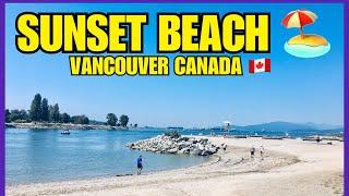 SUNSET BEACH - Vancouver BC Canada || Filipina - Swedish American Toddler Traveler