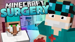 Minecraft Surgery | OPERATION FOR SANTA!! | Custom Mod Adventure