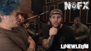 NOFX - Linewleum [Featuring Avenged Sevenfold] (Official Video)