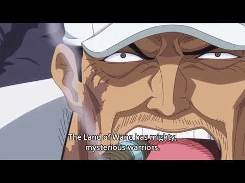 Garp explains Rox and talks about Big Mom and Kaido's Past - One Piece Episode 887 Eng Sub