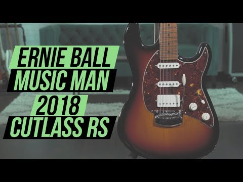 Ernie Ball Music Man 2018 Cutlass RS Demo