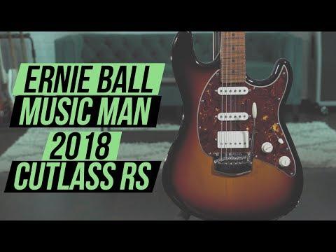 Ernie Ball Music Man 2018 Cutlass RS Demo