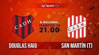 Douglas Haig vs San Martin de Tucuman full match