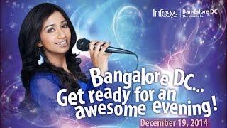 Shreya Ghoshal's Live Concert Infosys Bangalore Mannipaaya-tamil