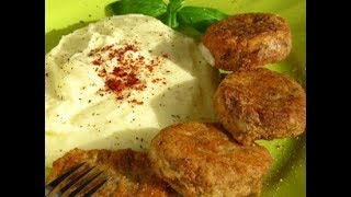 Самое вкусное пюре с котлетами по-турецки! Köfte ve patates püresi tarifi
