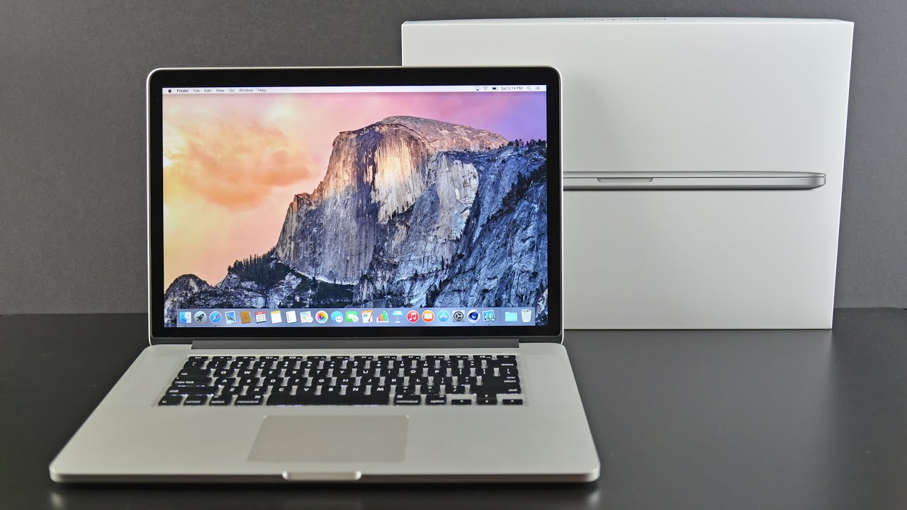 Apple MacBook Pro 15-inch Retina (2015): Unboxing & Review