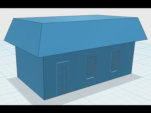123d Design House Youtube