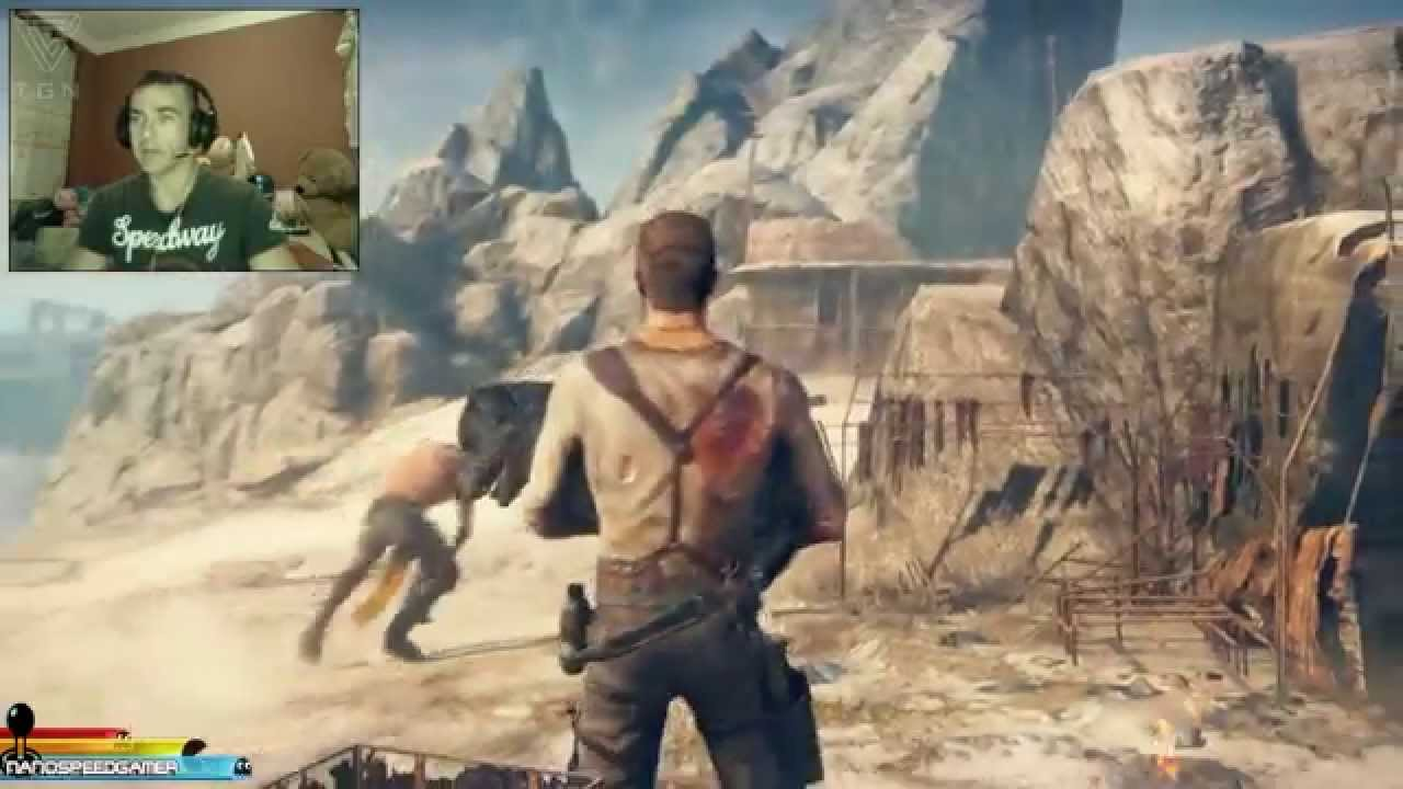 Mad Max Gameplay Espanol PS4