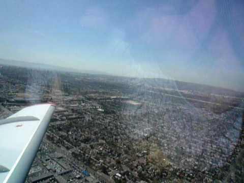 Departing from Long Beach on JetSuite Phenom