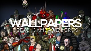 download wallpapers geeks gamers e nerds