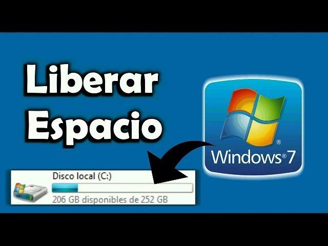 Como Liberar Espacio En Mi Pc Windows 7 Funciona Youtube