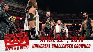 A Universal Challenger Crowned | Monday Night RAW Review (4/22/19)