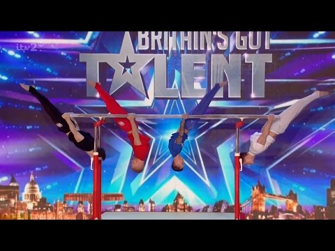 Britain's Got More Talent 2016 S10E04 4G Gymnastics with a Twist Full Audition
