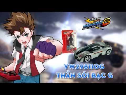 Thần xe siêu tốc: Quảng cáo hàng nâng cấp mới