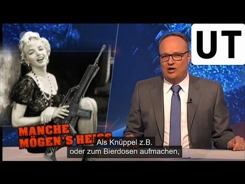 Heute-Show 10.04.15 mit selbsterstellten deutschen Untertiteln UT
