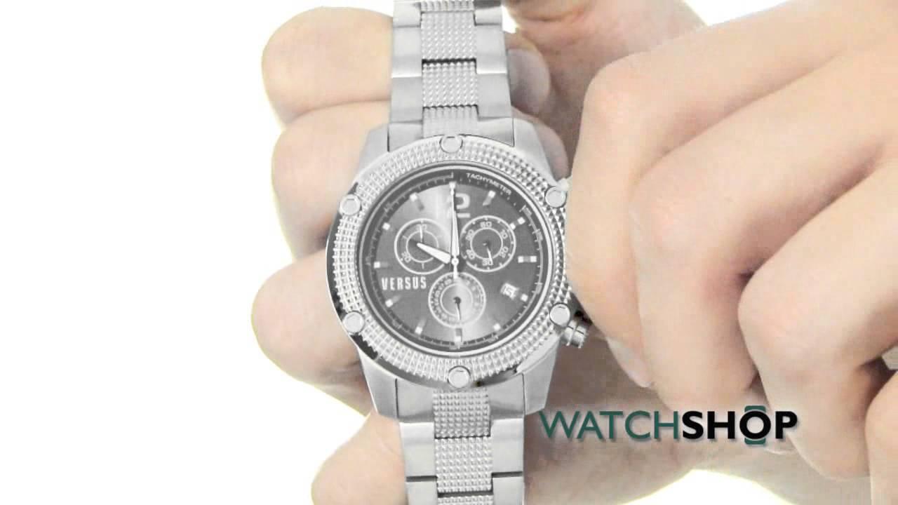 versus versace men s aventura chronograph watch soc040014 versus versace men s aventura chronograph watch soc040014