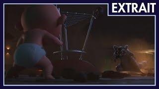 Les Indestructibles 2 - Extrait : Jack-Jack et le raton laveur