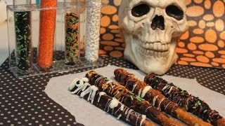 How To Make Chocolate Covered Pretzel Rods