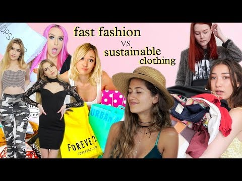 Are You A Good Influence? (Fast Fashion VS Sustainable Clothing)