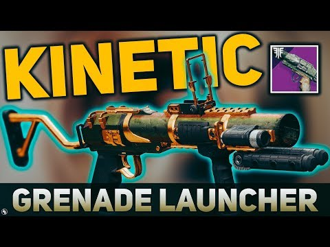 The Militia's Birthright (THE ONLY) Kinetic Grenade Launcher | Destiny 2 Forsaken