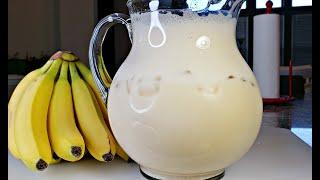 Fresh Banana Milk Recipe   How To Make Banana Milk   Simply Mama Cooks