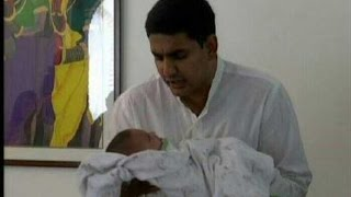NARA LOKESH AND BRAHMANI IS BLESSED WITH BABY BOY(21-03-2015)