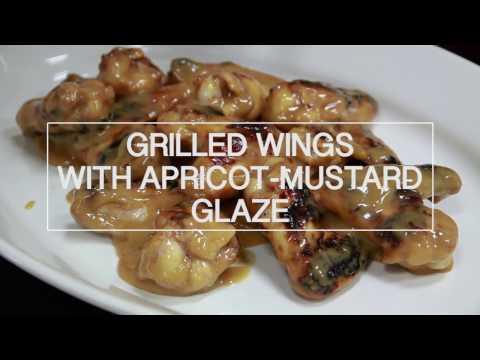 Apricot-Glazed Grilled Chicken