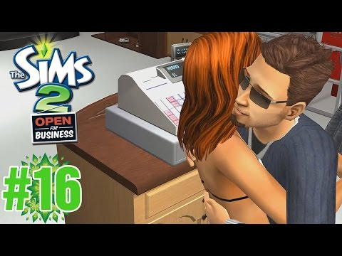 "Hot Romance! ""Sims 2 Open for Business"" Ep.16"